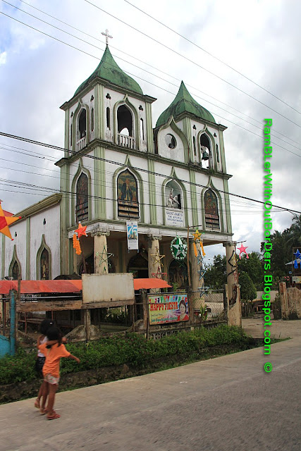 Catholic church with Moorish architecture, Bohol, Philippines