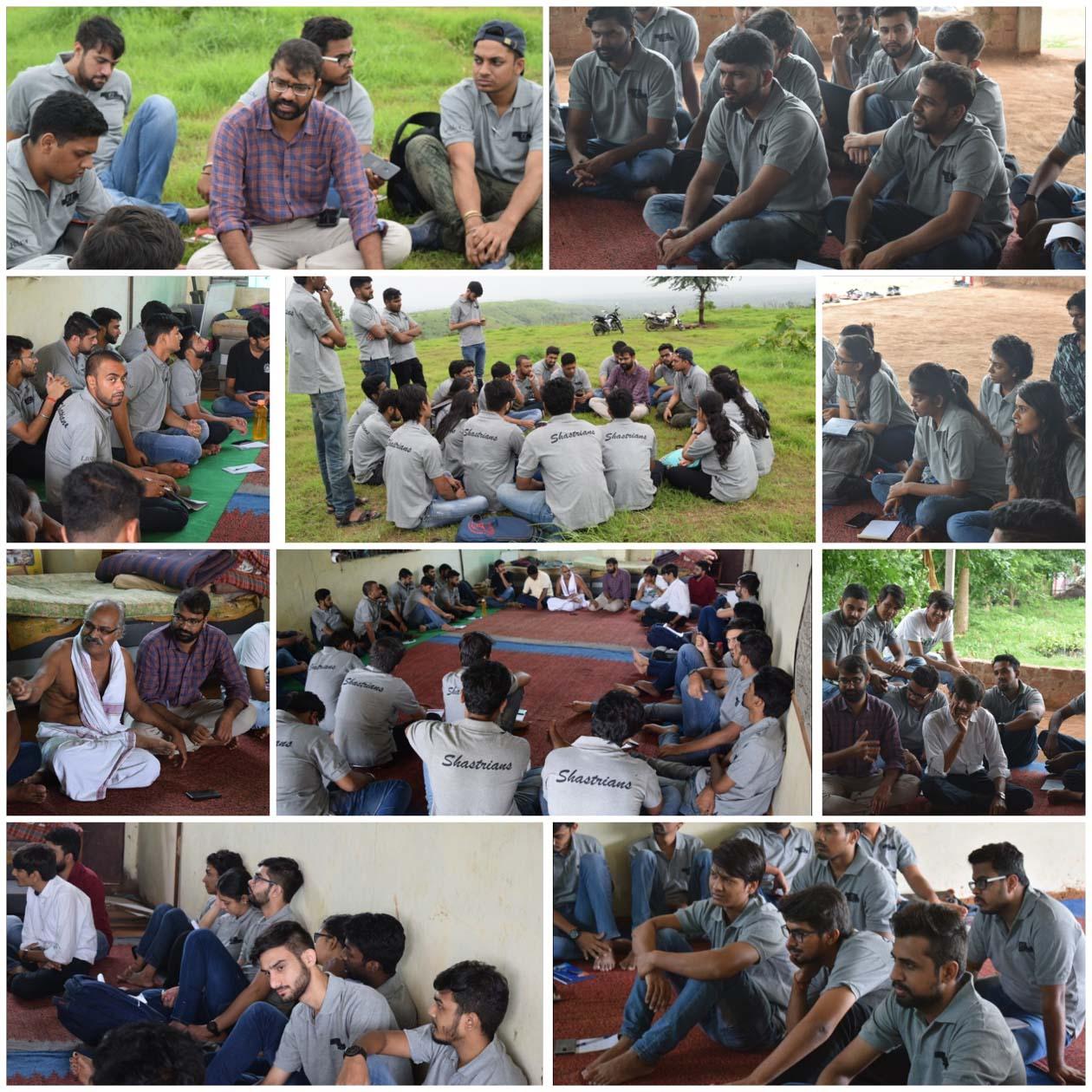 लाल बहादुर शास्त्री इंस्टीट्यूट ऑफ मेनेजमेंट दिल्ली द्वारा शिवगंगा के सहयोग से झाबुआ जिले में 34 सदस्यो का दल पहुंचा-managment-student-visiting-jhabua-district