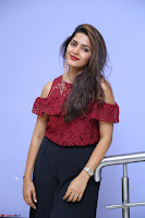 Pavani Gangireddy in Cute Black Skirt Maroon Top at 9 Movie Teaser Launch 5th May 2017  Exclusive 048.JPG