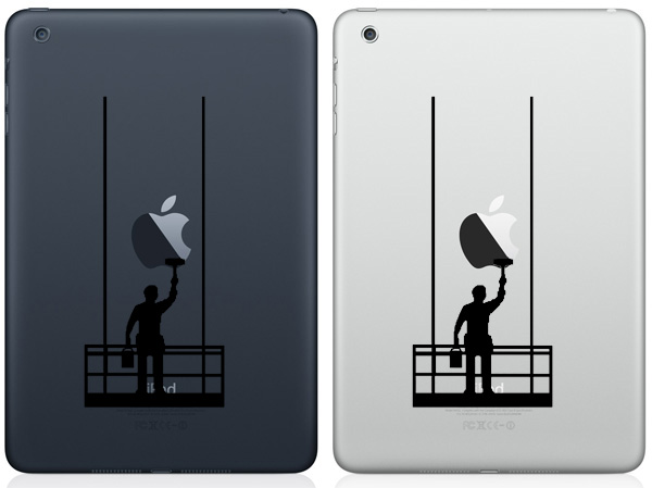 Painter iPad Mini Decals