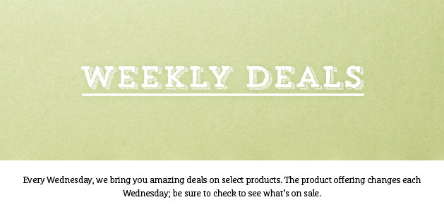 Stampin' Up! Offers, Weekly Deals