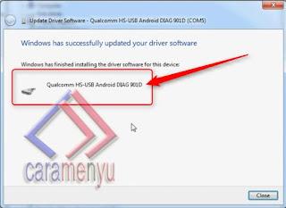 Cara Install Driver Qualcomm Hs-Usb Qdloader Bagi Yang Tidak Terdeteksi