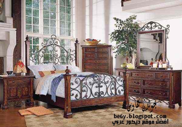 ديكورات و اثاث غرف نوم كلاسيك امريكية   American classic bedrooms