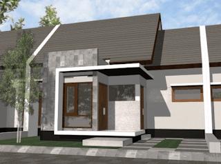 teras rumah minimalis modern terbaru
