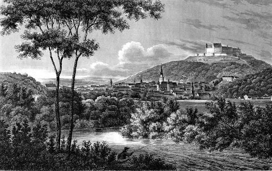 Anonim - Antique print of Coburg