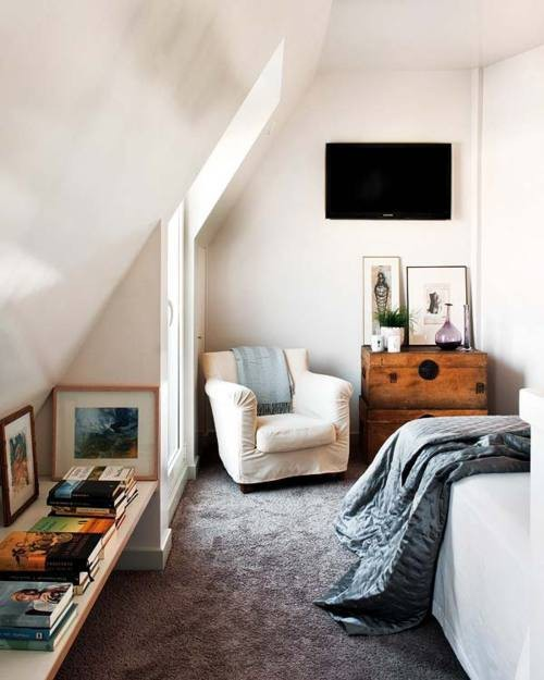 Attic Apartment: High Street Market: A Guest Room In The Attic