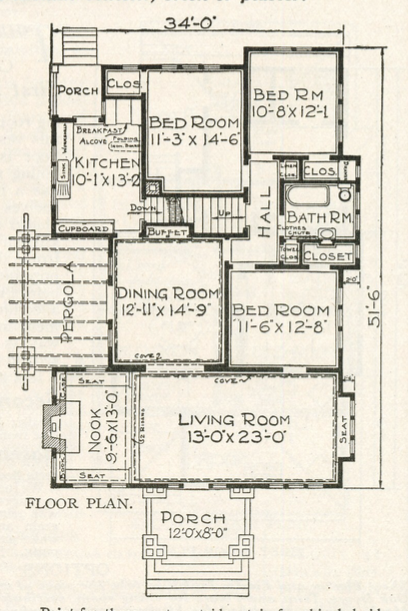 first floor layout Sears Ashmore