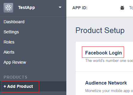 web api add facebook login