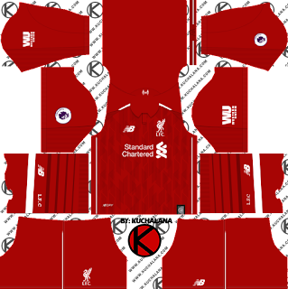Liverpool FC 2018/19 Kit - Dream League Soccer Kits - Kuchalana