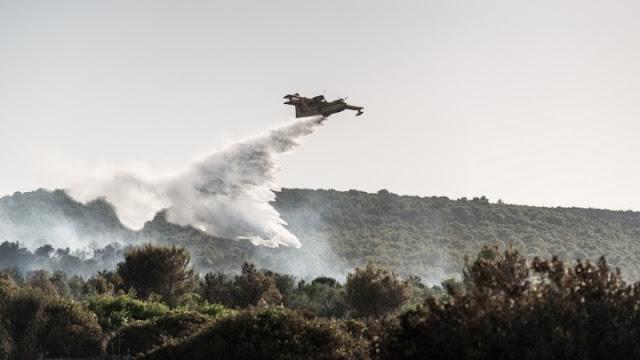 Δασική πυρκαγιά στη Μεσσηνία