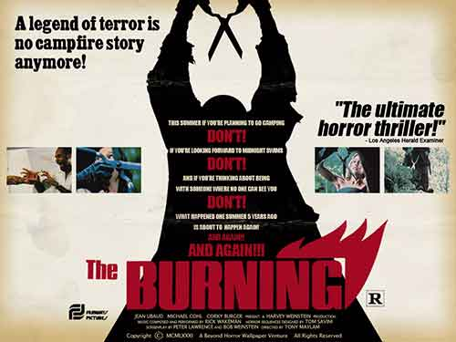 The Burning, un buen slasher dirigido por Tony Maylam