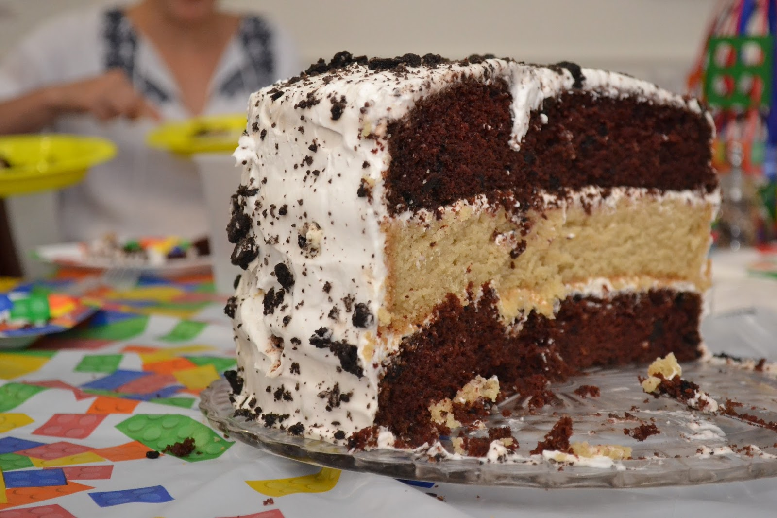 Vegan Birthday Cake Images : Vegan Magic Time: Vegan Birthday Cake: Triple-Layer ...