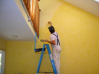 Pintores: aplicación de pintura en locales