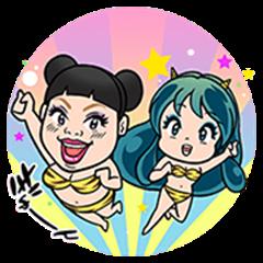 Urusei Yatsura × Ladies of Yoshimoto