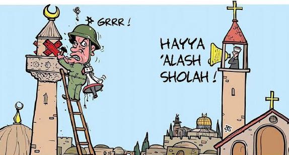 Seluruh gereja Kumandangkan Adzan untuk Umat Islam Di israel