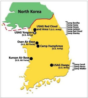 U.S. troop presence on the Korean Peninsula