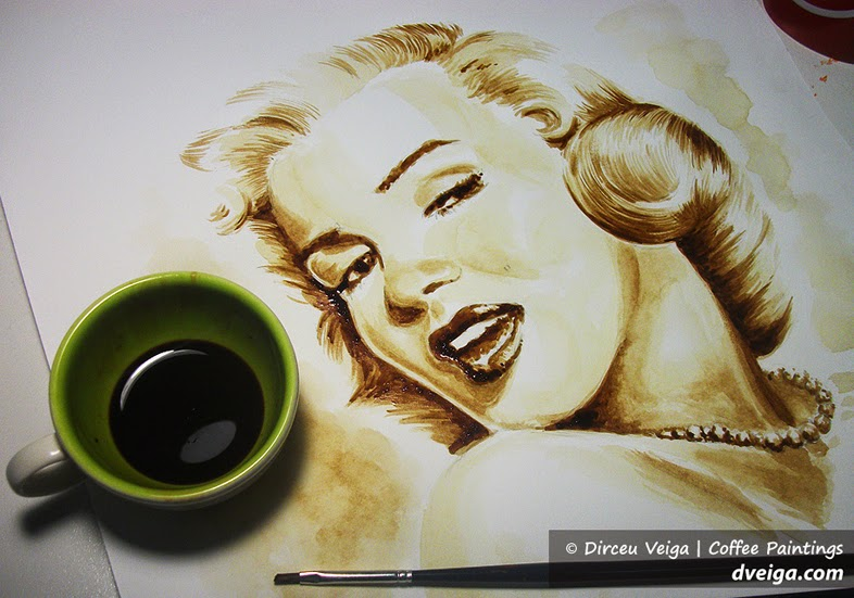 15-Marilyn-Monroe-Dirceu-Veiga-Coffee-Good-for-Drinking-and-Good-for-Painting