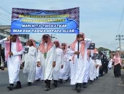 MAN IC Raih Juara 2 pada Pawai Ta'aruf Sambut Tahun Baru Islam