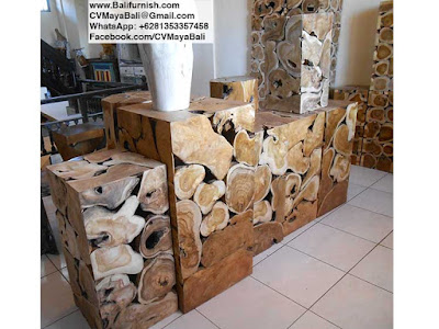 Slice Wood Furniture from Indonesia