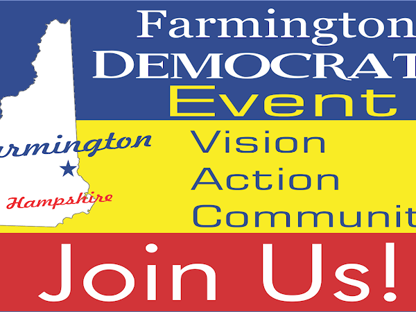 Farmington Dems Social-Relax With Our Candidates, November 8th, 6PM