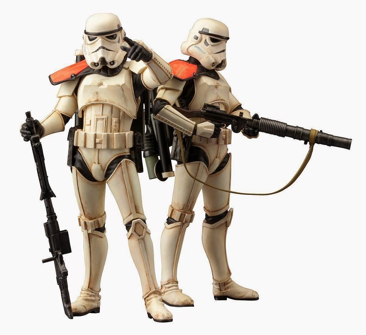 figura Sandtrooper star wars