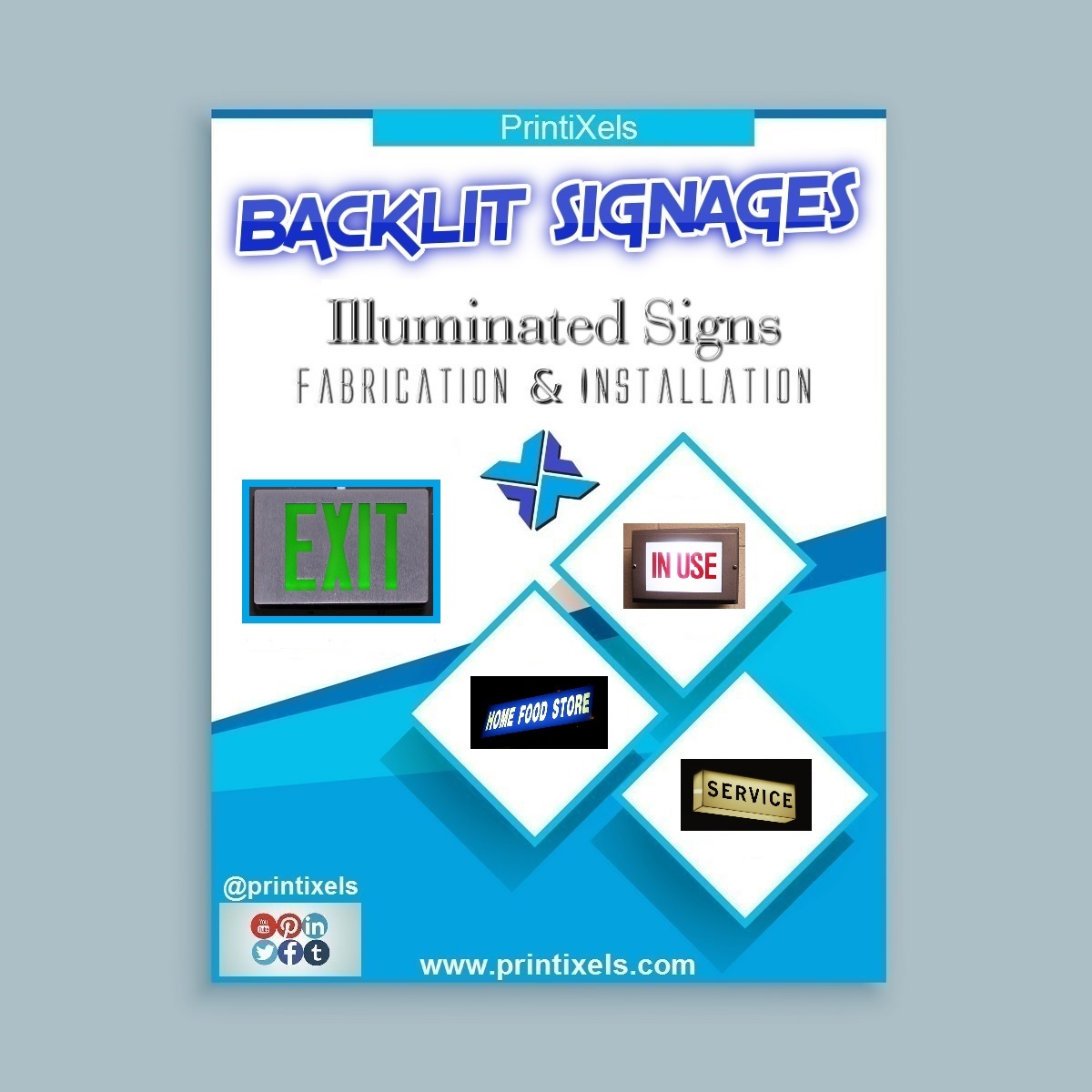 Backlit Signages, Illuminated Signs