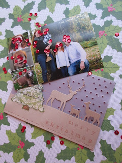 fresh crafts blog: Christmas Card 2016