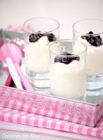 Mousse expres de yogur y queso