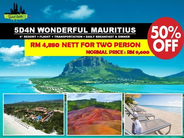 Promosi TouristGuide.com.my Hingga 30 November 2016