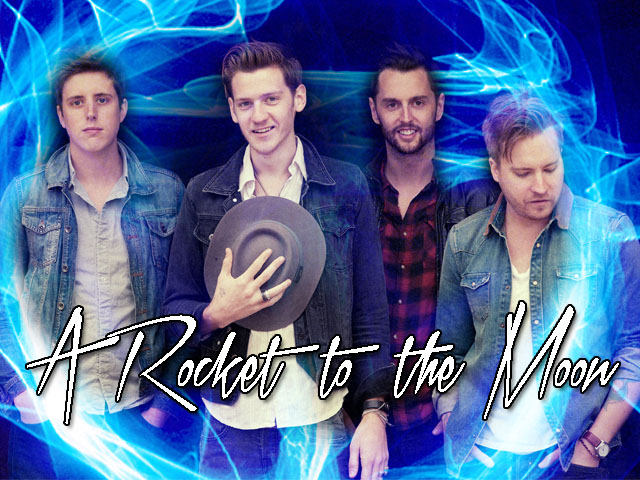 Baby Blue Eyes Rocket To The Moon
