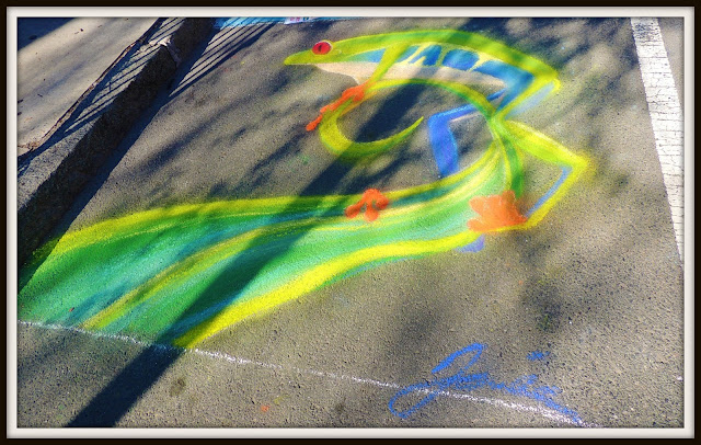 Chalk on the Walk (Street Painters) en Cambridge