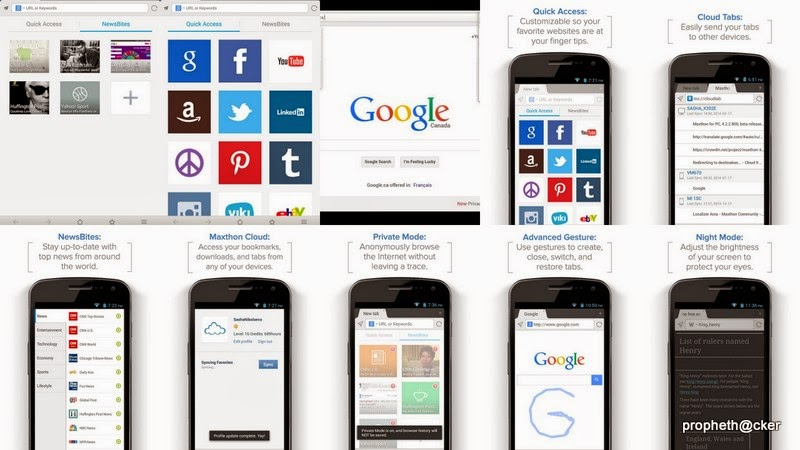 Maxthon Web Browser ANDROID