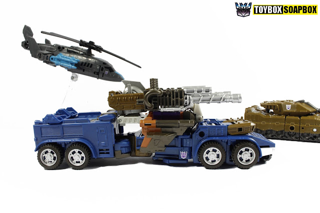 unite warriors onslaught truck mode