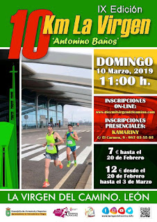 10 Km La Virgen del Camino 2019