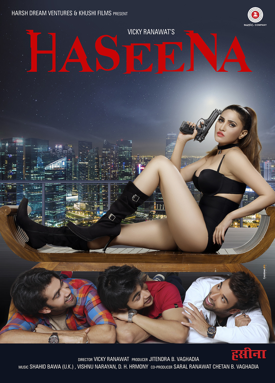 Haseena (2018) Hindi 720p HDRip 1GB