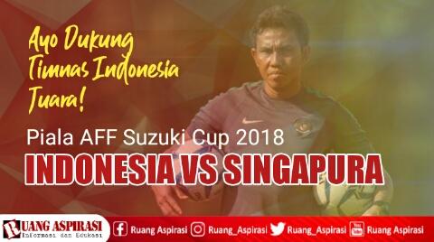 Timnas Indonesia vs Timnas Singapura 2018