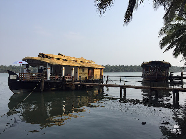 casa flotante en backwaters de kerala