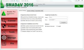 Smadav Pro Rev 11.0.4 dan Serial Number Terbaru