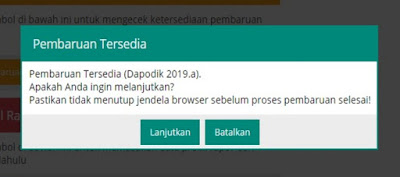 Aplikasi dapodikdasmen 2019a