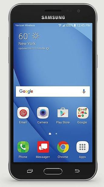 verizon galaxy j3 v