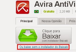 FREE PORTUGUES ANTIVIR EM AVIRA BAIXAR ANTIVIRUS PERSONAL