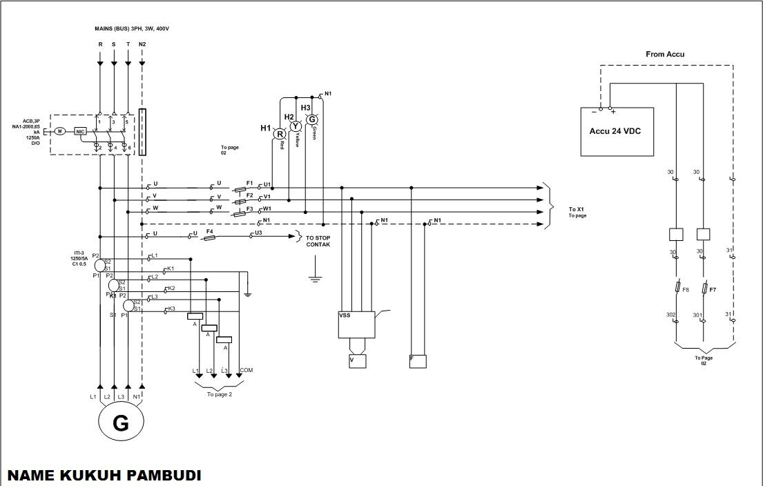 Java Industri   Single Line Diagram Terbaru 2013 Via Visio New