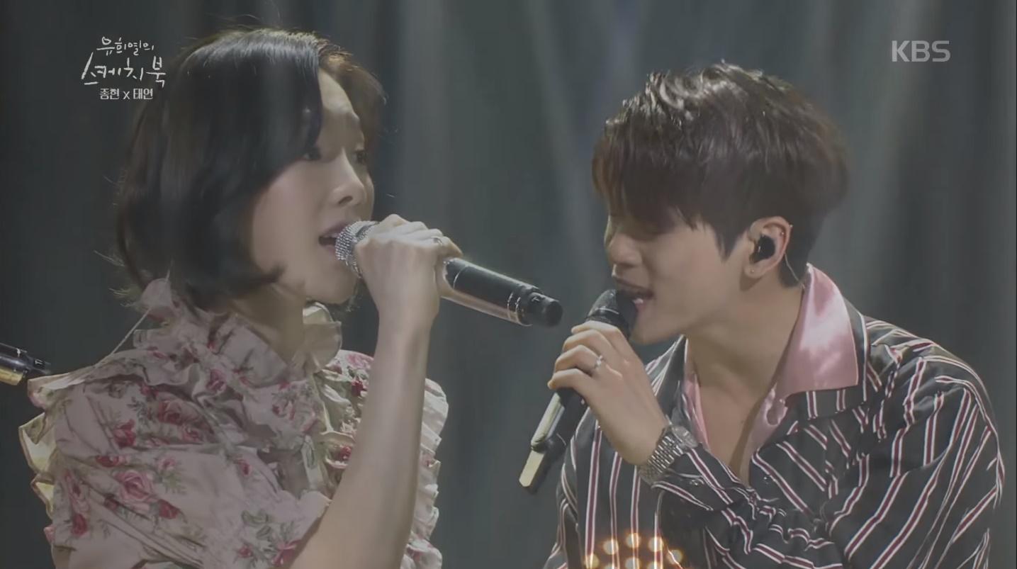 SHINee ジョンヒョンと少女時代 テヨンの心あたたまるデュエット ...
