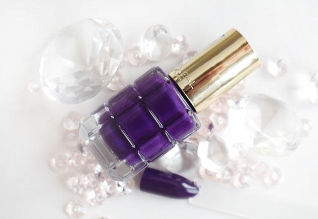 L'Oréal Color Riche Le Vernis Öl-Nagellack 334 Violet de Nuit