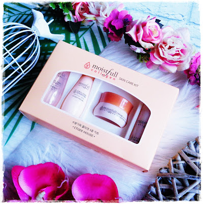 Etude House, Moistfull Collagen Skin Care It, Zestaw Mini Produktów