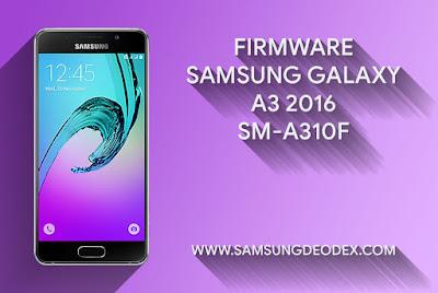 Samsung Firmware A310F DS A3 2016