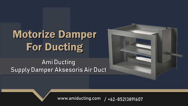 Motorize Damper For Ducting