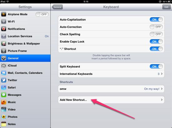 BlackBerry Autotext On iPhone iPad