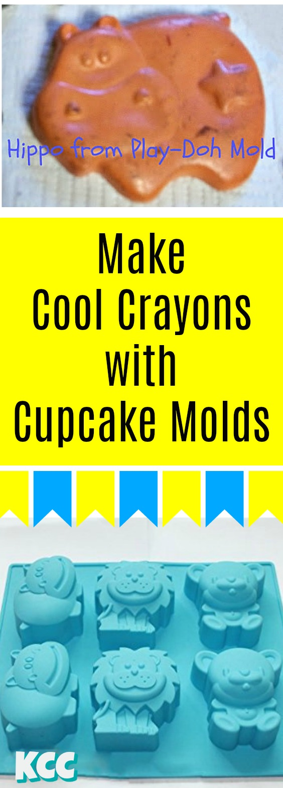 How to melt crayons into molds melted wax