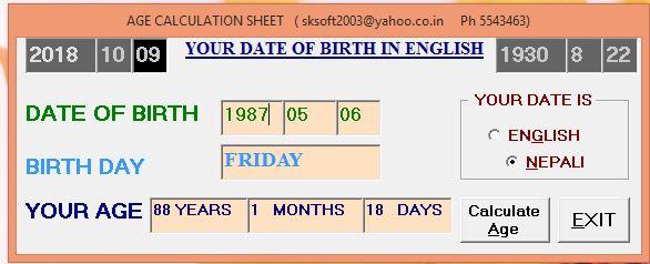Date Converter Nepali To English Ad Bs Offline